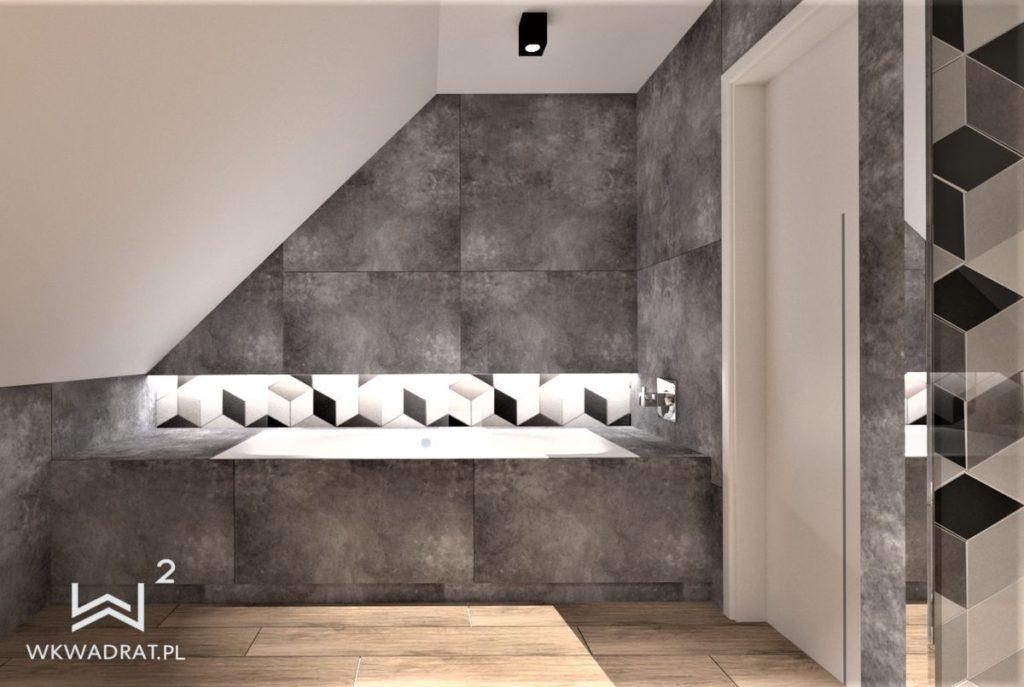 PROJEKTOWANIE I ARANŻACJA WNĘTRZ - ARCHITEKT WNĘTRZ CIECHOCINEK projekt-łazienki-5-dom-jednorodzinny-projektowanie-wnętrz