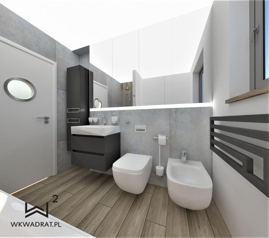 PROJEKTOWANIE I ARANŻACJA WNĘTRZ - ARCHITEKT WNĘTRZ CIECHOCINEK -projekt-aranzacji-wnetrza-lazienki-drewno-betony