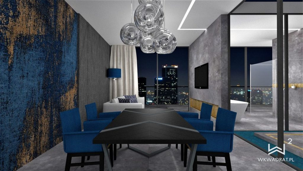 PROJEKTOWANIE I ARANŻACJA WNĘTRZ - ARCHITEKT WNĘTRZ CIECHOCINEK -projekt-wnętrz-pokoju-hotelowego-aranzacja-apartementu