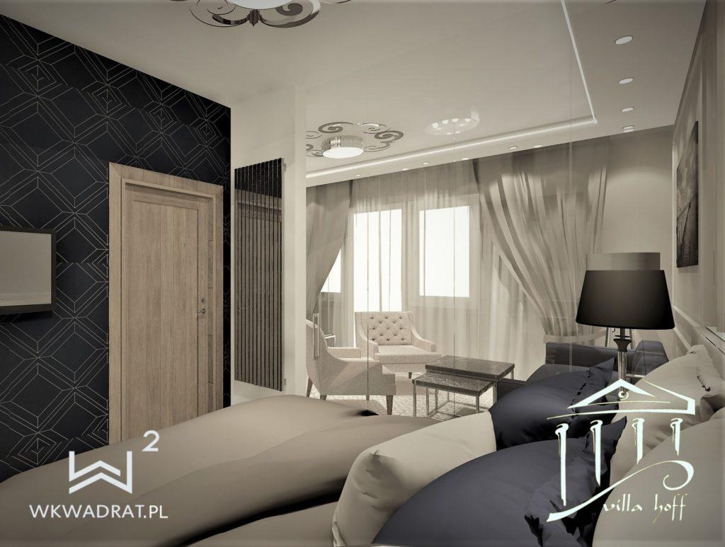 PROJEKTOWANIE I ARANŻACJA WNĘTRZ - ARCHITEKT WNĘTRZ CIECHOCINEK -projekt-wnetrz-pokoju-hotelowego-projekt-wnetrz-apartamantu-hotelowego