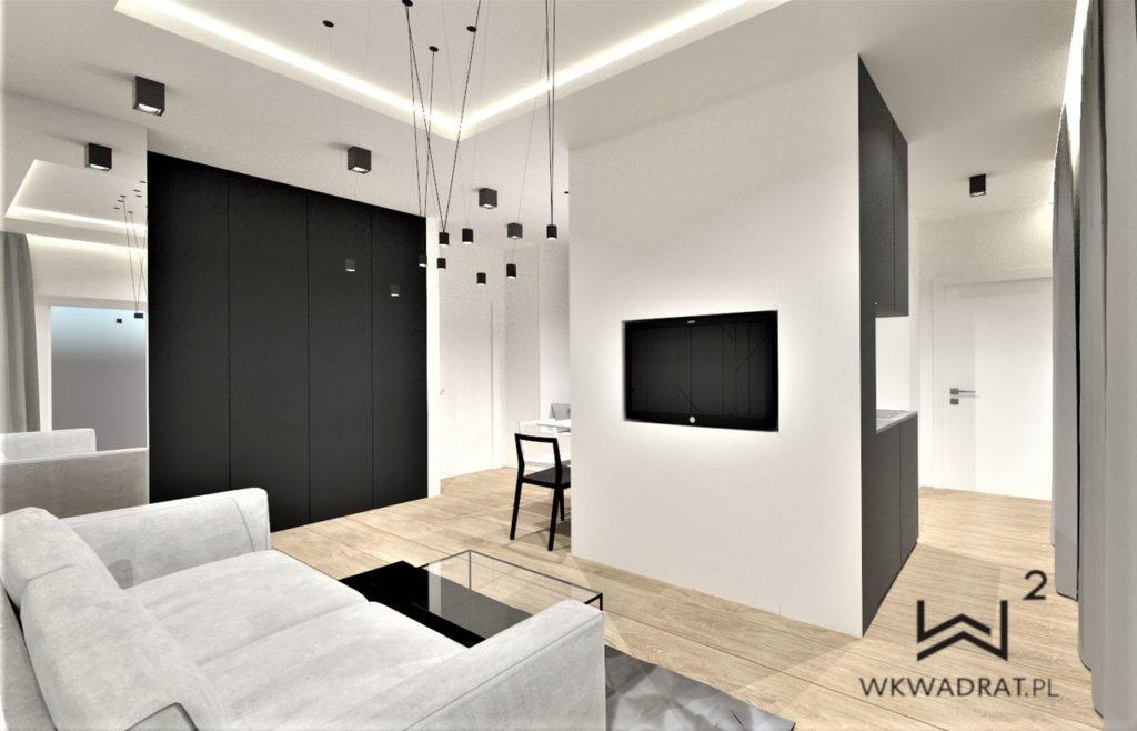 PROJEKTOWANIE I ARANŻACJA WNĘTRZ - ARCHITEKT WNĘTRZ CIECHOCINEK -projekt_mieszkania_w_warszawie-architekt_wnętrz